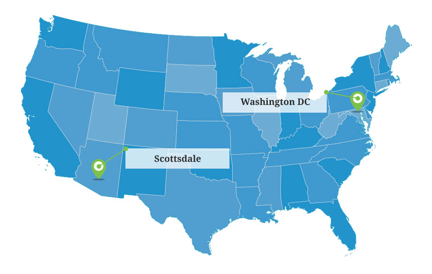 jp griffin staffing map nationwide