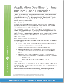 Application Deadline for Small Business Loans Extended V2