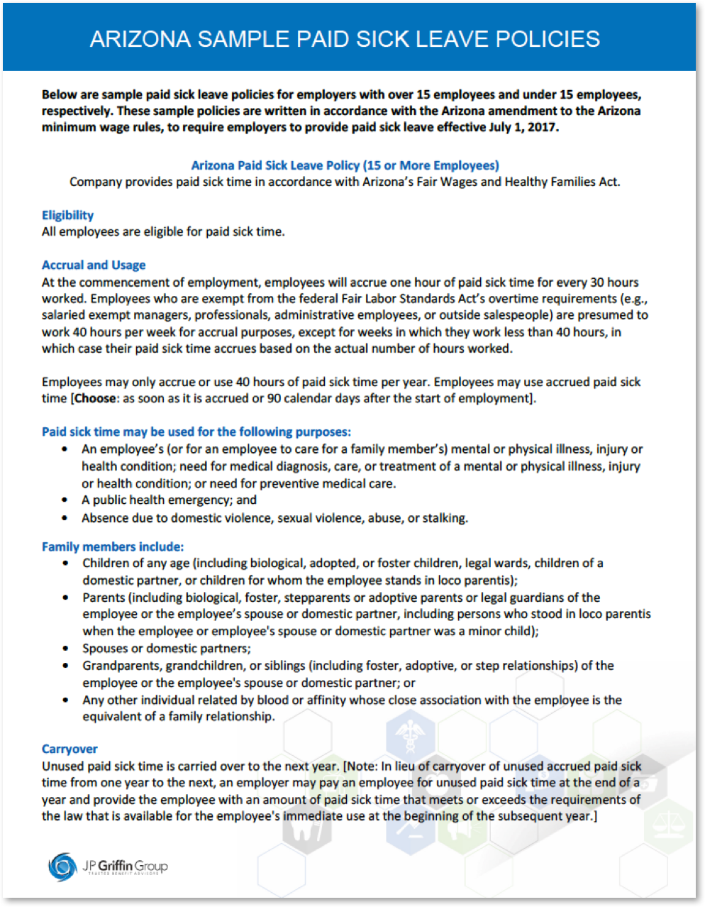 Arizona_Sample_Paid_Sick_Leave_Policies_JPGriffin_Group_7_27_2017.png