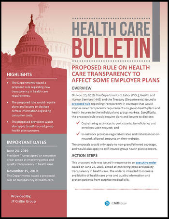 BORDER_JPGriffinGroup_Healthcare_Price_Transparency_Executive_Order