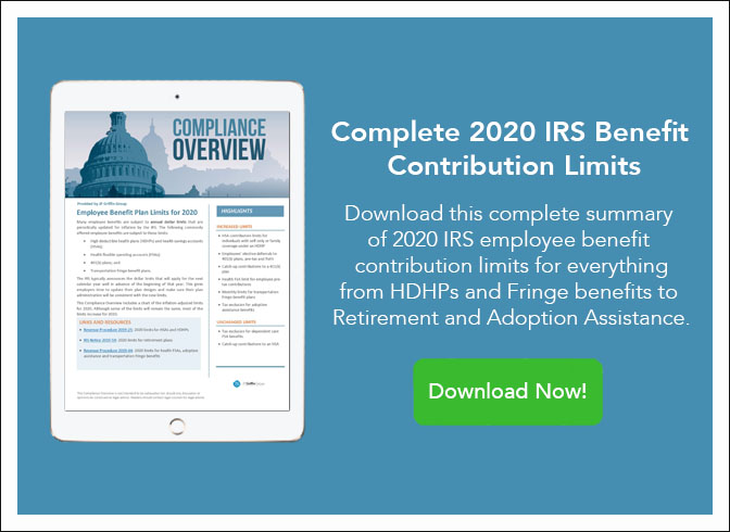 Complete 2020 IRS Benefit Contribution Limits