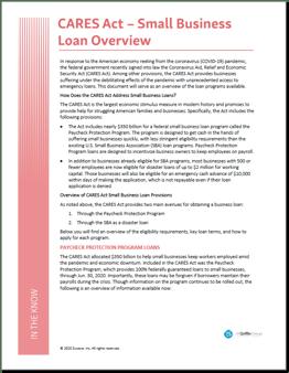 Coronavirus - Small Business Guidance & Loans