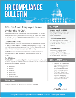 DOL FAQs on FFCRA Leave