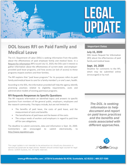 DOL Issues Revised RFI on Paid Family and Medical Leave