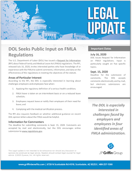 DOL Seeks Public Imput on FMLA Regulations