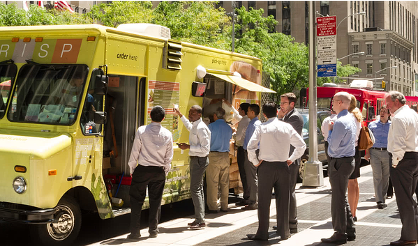 Foodtrucks At Worksite on Cyber Monday