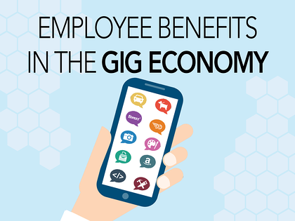 Gig Economy with cell phone apps