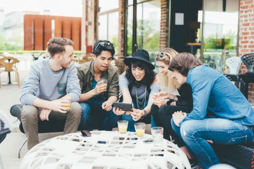 Group of workforce millennials