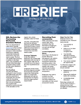 HR Brief - July 2020