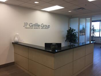 Photo of the JP Griffin Group Employee Benefits Advisor Scottsdale Office Main Lobby
