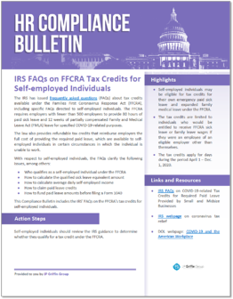 IRS FAQs -FFCRA Tax Credits for Small and Midsize Businesses