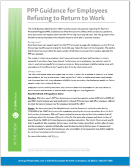 ITK - PPP Guidance for Employees Refusing to Return to Work JPGG