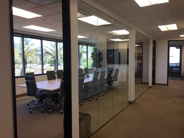 Photo of the JP Griffin Group Employee Benefits Advisor Scottsdale Office Conference Room