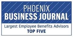 JP Griffin Group Recognized As Top Five Phoenix-Area Employee Benefits Advisor