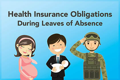 Leaves of absence for pregnant lady, father with newborn child and military personnel