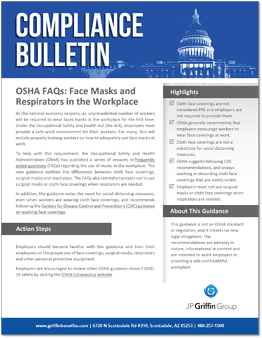 OSHA FAQs - Face Masks and Respirators in the Workplace