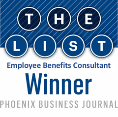 JP Griffin Group Once Again Named Top Five Phoenix-Area Employee Benefits Broker