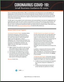 Picture1.Coronavirus - Small Business Guidance & Loans