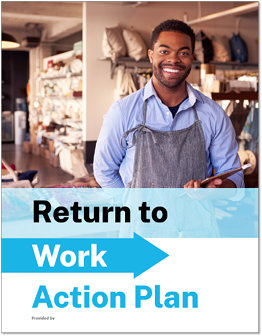 SAMPLE Return to Work Action Plan - Design 3