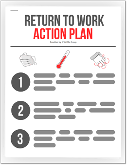 Sample Return to Work Action Plan