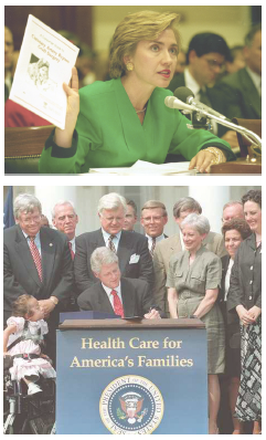 american healthcare in the 1990