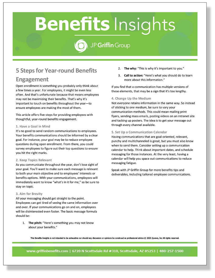 5 Steps for Year-round Benefits Engagement_FINAL