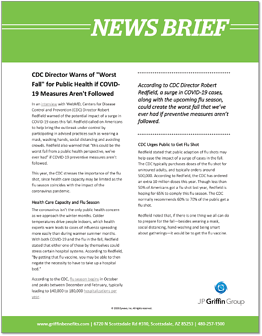CDC Director Warns of Worst Fall for Public Health if COVID-19 Measures Arent Followed-1