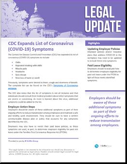 CDC Expands List of COVID-19 Symptoms-1