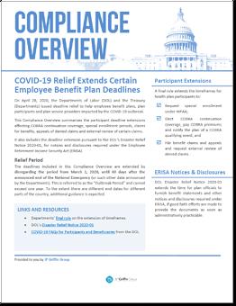 COVID-19 Relief Extends Certain Employee Benefit Plan Deadlines-1