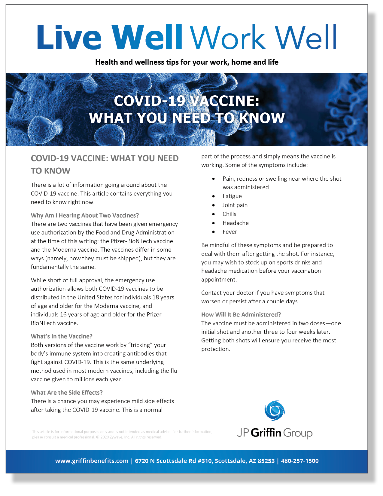 COVID-19 Vaccine - What You Need To Know