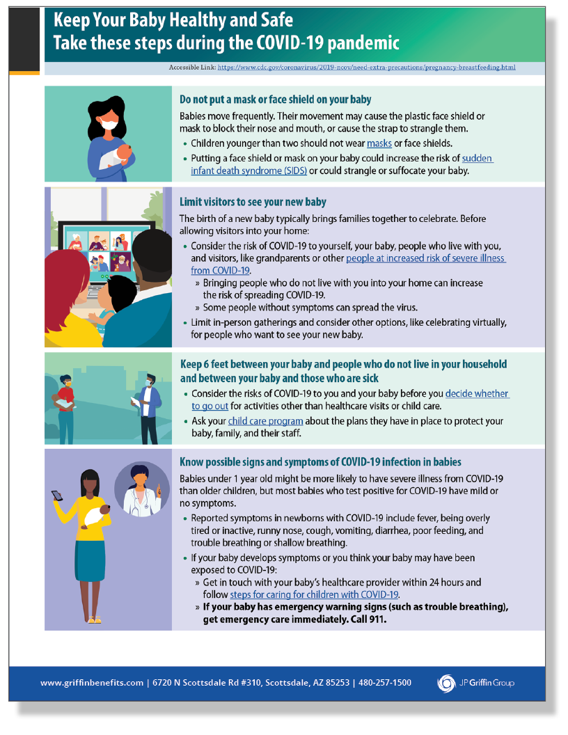 Keep Baby Healthy and Safe (Poster)