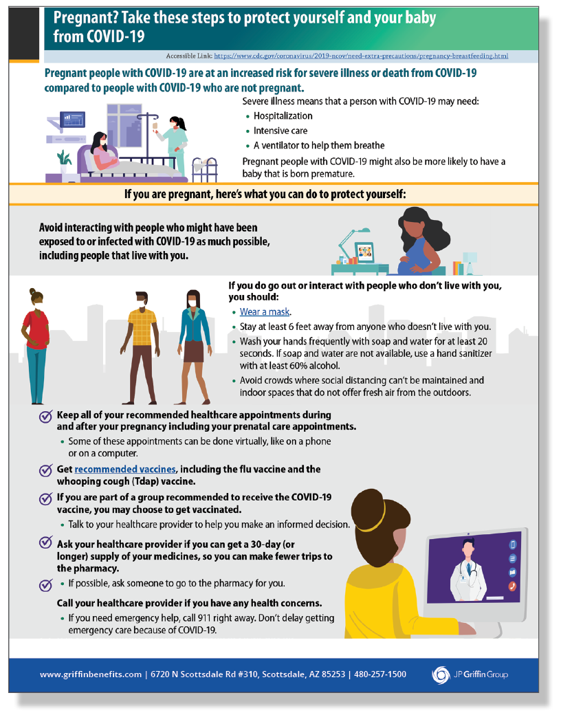 Protective Steps To Take If You Are Pregnant - Poster