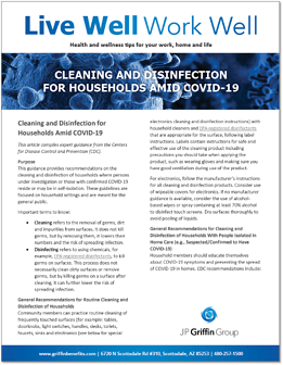 Cleaning and Disinfection for Households Amid COVID-19-1