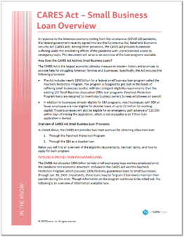 Coronavirus - Small Business Guidance & Loans-1