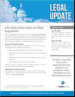 DOL Seeks Public Imput on FMLA Regulations-1