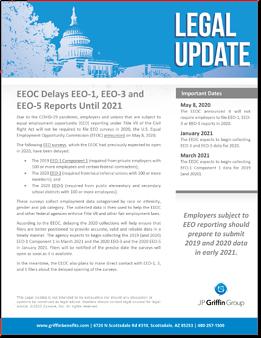 EEOC Delays EEO-1, EEO-3, and EEO-5 Reports-1