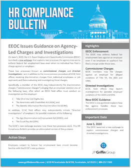 EEOC Issues Guidance on Agency-Led Charges and Investigations-1