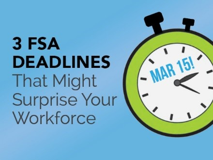 Rollovers, Grace Periods and Run-Outs: Important FSA Terms for Early in the Calendar Year - Featured Image