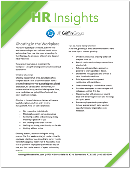 HR Insights - Ghosting in the Workplace-1