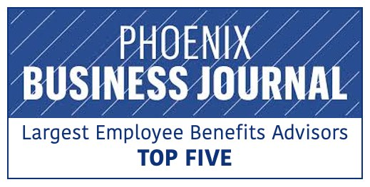 JP Griffin Group Recognized As Top Five Phoenix-Area Employee Benefits Advisor - Featured Image