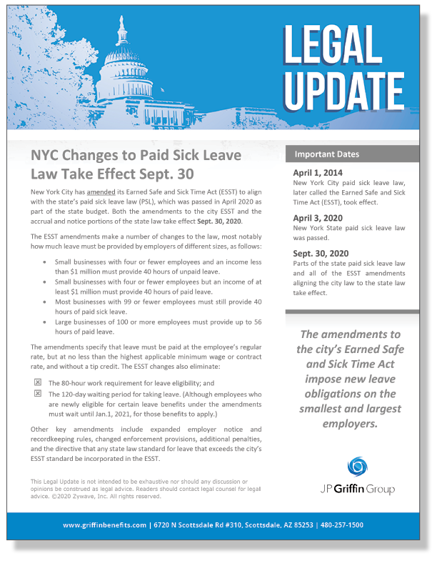 NYC Changes Paid Sick Leave Law_FINAL