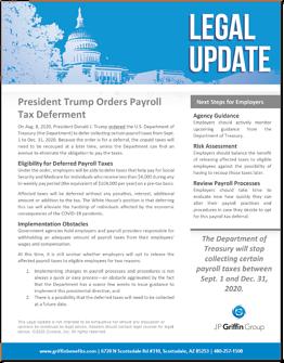 President Trump Orders Payroll Tax Deferment-1
