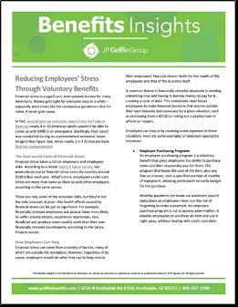 Reducing Employees' Stress Through Voluntary Benefits-1