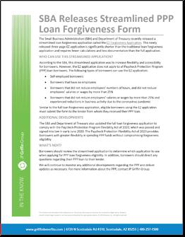 SBA Releases Streamlined PPP Loan Forgiveness Form-1
