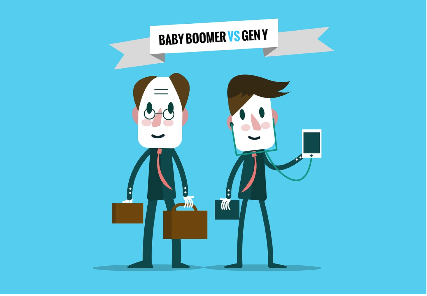 Millennials vs. Baby Boomers: Managing Across Generations - Featured Image
