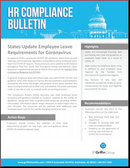 States Update Employee Leave Requirements for Coronavirus (3/28)