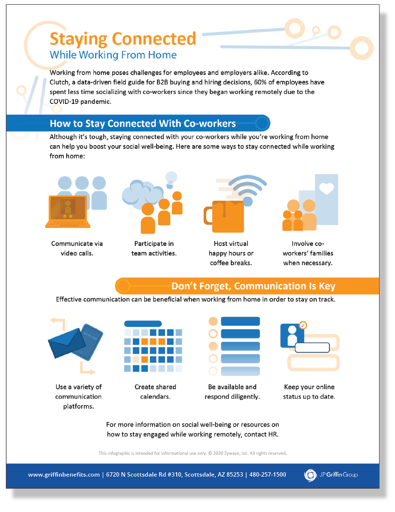 Staying Connected While Working From Home - Infographic_FINAL