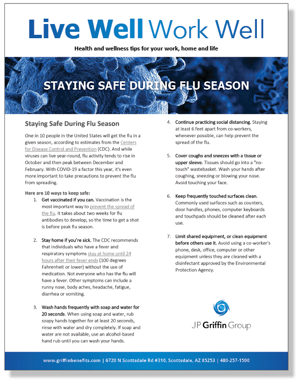 Staying Safe During Flu Season_FINAL