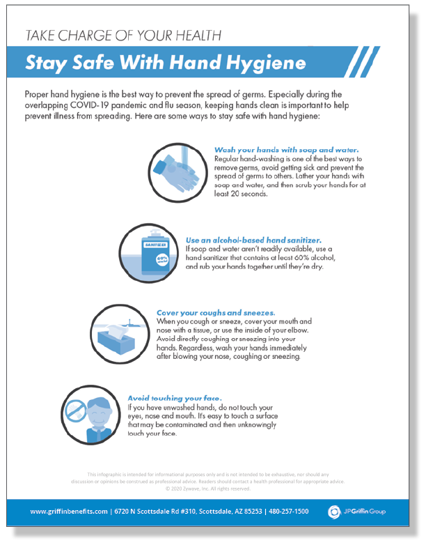Take Charge of Your Health - Stay Safe With Hand Hygiene - Infographic_FINAL
