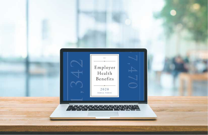 The 2020 Employer Health Benefits Annual Survey Results - Featured Image